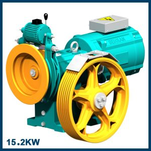 موتورگیربکس 15.2 کیلووات 3VF سرعت 1.6 متر بر ثانیه B.L.280 بهران (12*6*56)