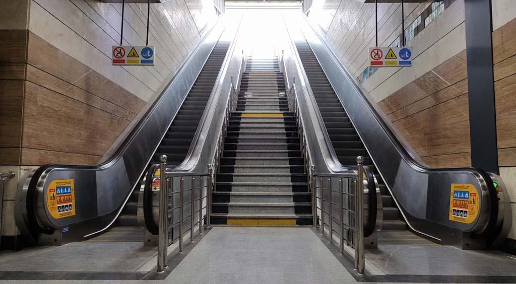 پکیج پله برقی